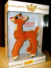 Steiff North American Christmas Exclusive Rudolph Red Nosed Reindeer 667527 2004