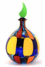 Angel B. - Bottle Spotted IN Murano Glass Signed Art