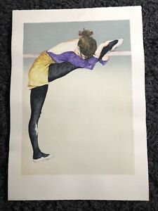 rare DONALD HAMILTON FRASER RA Ltd Ed SCREENPRINT Dancer Stretching 16/150