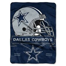 "Dallas Cowboys Plush 60"" by 80"" Twin Size Blanket - NFL"