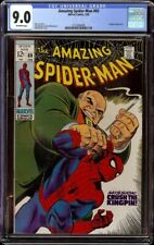 Amazing Spider-Man # 69 CGC 9.0 OW (Marvel, 1969) Kingpin cover and appearance