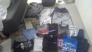 BOYS AGE 10-12 summer clothing bundle.Puma ,Addida T Hilfiger, Next, UA, Nike