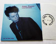James CHANCE &CONTORTIONS Live in New York 2LP DANCETERIA/ROIR no wave/jazz funk
