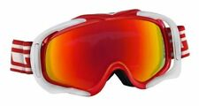 DIRTY DOG 54115 OUTRIGGER SNOW SKI GOGGLES RED WHITE/FUSION MIRROR *EX DISPLAY