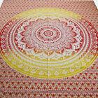 couvre-lit couverture Lotus Fleur Tissu Déco Inde tapisserie Décoration murale
