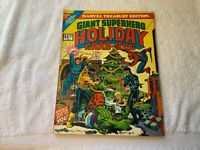 VINTAGE MARVEL TREASURY EDITION GIANT SUPERHERO Holiday Grab Bag 1975