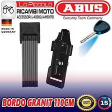Lucchetto Ad Arco Richiudiubile Abus 85cm Bordo Granit X-Plus 6500 85 BK SH Nero