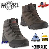 Hiker WATERPROOF Work Hiking Trail Shoes Boots Slip Resistant Non -Marking nt