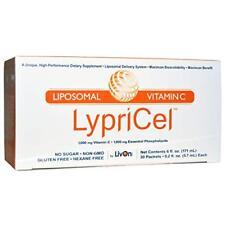 LypriCel Liposomal Vitamin C 30 Packets Non-gmo Sugar Gluten