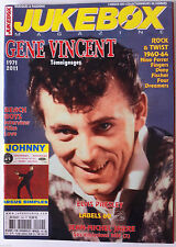 JUKEBOX n°299; Gene Vincent/ Elvis Presley/ Labels 60/ L.M Jarre ses émission Tv