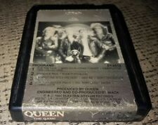 "QUEEN ""THE GAME' 8 TRACK TAPE music album ELECTRA RECORDS rock FREDDIE MERCURY"