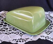 Vintage Bessemer Milk Jug Olive Green Butter Dish Melamine