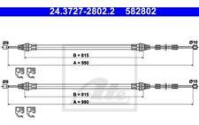 ATE Cable de accionamiento, freno estacionamiento SMART 24.3727-2802.2
