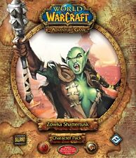 World of Warcraft The Adventure Game Zowka Shattertusk Character Pack Brand NEW