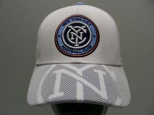 NEW YORK CITY FOOTBALL CLUB - MLS - ADIDAS - YOUTH SIZE SNAPBACK BALL CAP HAT!
