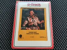 """FREDDIE HART 8 Track Tape """" People Put To Music """" Rare Factory Sealed"""