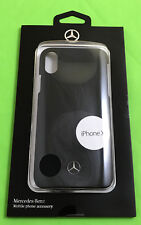 Origi mercedes benz Funda móvil Funda protectora Hard Case iPhone ® x 10 negro estrella