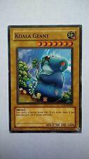 Carte Yu Gi Oh Koala Géant IOC-FR004