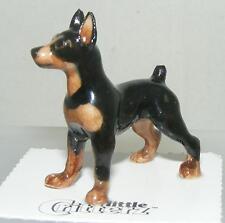 """Little Critterz Miniature Porcelain Miniature Pinscher (Minpin) """"Zeus"""" LC869"""