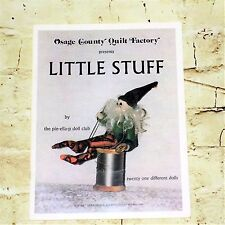 Vintage 1994 Osage County Quilt Factory Little Stuff How To Make Dolls Book