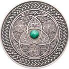 2016 3 Oz Silver Fiji 10$ CELTIC Mandala Art II Antique Finish Coin.