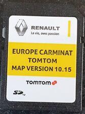 Carte SD GPS Europe 2019 - 10.15 - Renault TomTom Carminat