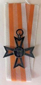MEDAL GERMAN WW1 EHRENBUND DER SOMMEKAMPFER - SOMMEKREUZ 1914-18