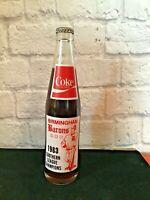 BIRMINGHAM BARONS Coke Bottle 1983 Southern League Champions Commemorative
