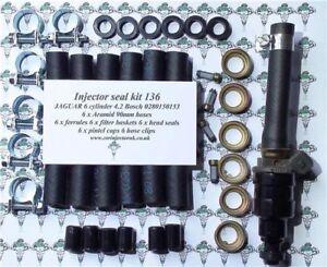 Bosch 0280150153 Lucas 73179A Jaguar 4.2 Hose To Rail 6 Cylinder Kit - Kit 136