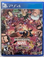 Ultimate Marvel vs. Capcom 3 (Sony PlayStation 4 PS4)