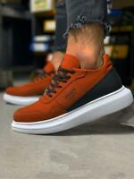 Knack 040 Baskets Orange Neuf Baskets pour Hommes Chaussures Casual Chaussures