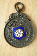 Medal- 1936 YORKSHIRE MINIATURE RIFLE ASSOCIATION MEDAL~W H Edmund,SUMMER LEAGUE