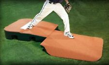 Portolite Pro Indoor/Outdoor Turf Top Baseball Pitching Mound TPM-1150 (Clay)