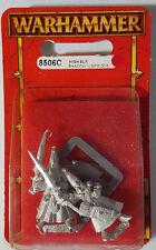 GW Warhammer High Elf Shadow Warriors 8506C 1997 - METAL OOP MIB (2 models/pack)