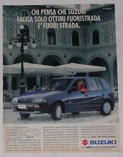 Advert Pubblicità 1994 SUZUKI SWIFT