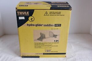 Thule #875 Hydro-Glide Kayak Saddle Carriers (Car Roof Top Kayak Carriers)
