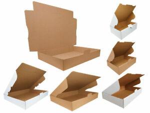 Folding Cartons Großbriefkartons Maxibrief Cardboard Boxes Post Box White