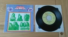 "RARE Uriah Heep Look At Yourself Japanese 7"" Single Insert VG+/Ex Prog Rock"