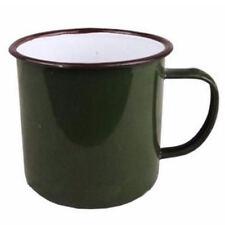 240ml Vintage Style Enamel Cup Mug for Drinking Coffee Bear Tea Camping Hiking