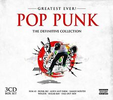 POP PUNK GREATEST EVER 3 CD NEU PAPA ROACH/RAMONES/SUGAR RAY/HOLE/BUSTED