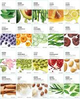 [The Face Shop] Real Nature Mask Sheet 20 Kinds 1 / 3 / 5 / 10 PCS Korea Beruty