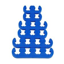 7mm 8mm Spark Plug Wire Separators Dividers Looms 9877 Blue Fit Ford Chevy Mopar