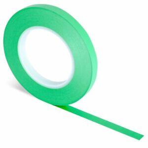 J TAPE FINE LINE MASKING TAPE  GREEN / ORANGE / BLUE- VARIOUS SIZES