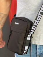Black Supreme Crossbody SS18 Messenger Shoulder Bag Fanny Pack Waist Bag