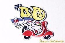 """Toppa """"Esso Oil Drop Coppia"""" - Olio Scooter Vespa Retro Auto d'epoca Toppa"""