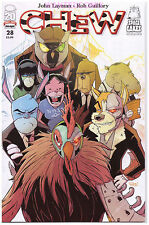CHEW #28 IMAGE COMIC BOOK SPACE CAKES part 3 OF 5 JOHN LAYMEN ROB GUILLORY NEW 1