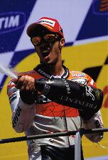 ANDREA DOVIZIOSO Podium Result SIGNED Repsol Honda MotoGP 12x8 Photo AFTAL COA