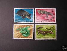 PAPUA NEW GUINEA, SCOTT # 344-347(4) TURTLES 1972 MNH