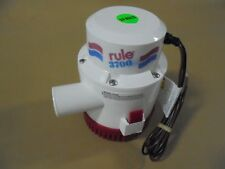 NEW RULE 3700 GPH BILGE PUMP MODEL# 16A / 24 VOLTS