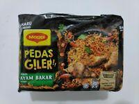 10 x 76g Maggi Pedas Giler Crazy Hot Ayam Bakar Instant Noodles FREE SHIPPING